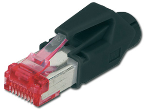 Modular Plug RJ45 Hirose CAT6,8P8C Full Shielded CAT6