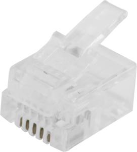 Modular Plug RJ12 Flat Cable,6P6C  Unshielded