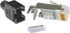 Modular Plug RJ45 Hirose CAT5,8P8C Full Shielded CAT5