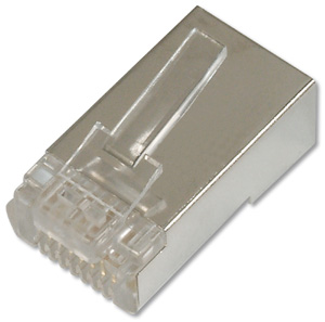 Modular Plug RJ45 Round CAT6,8P8C Shielded with Boot
