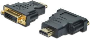 Adapter HDMI A ST DVI I BU,HDMI (A) ST DVI-D (24+5) BU