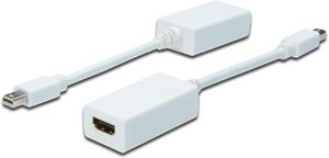 Mini DisplayP.STHDMI BU,wei�, Adapter 15cm