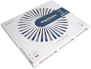 Notebook Cooler, ABS, Wei�,USB Anschlu�, nur 16dB(A)