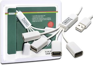 USB Hub  4PORT USB 2.0 Spider,BUS POWERD