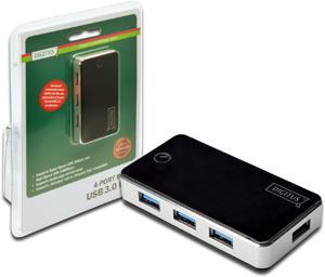 USB Hub  4PORT USB 3.0,Inkl.5V/3,5A Netzt.,bis 5Gbps