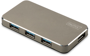 USB Hub  4PORT USB 3.0,Inkl.5V/2A Netzt.,bis 5Gbps