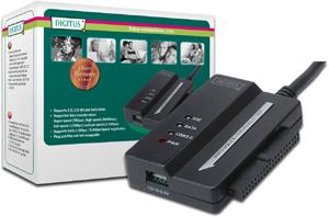 Adapter USB 3.0 auf SATAII+IDE,Inklusive Netzteil 12V,2A