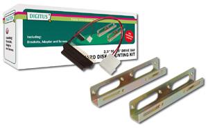 Festplatten Einbau Kit 2,5\,Inklusive Adapter - Schrauben