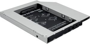 SSD/HDD Einbaurahmen,f�r CD/DVD/Blu-ray Schacht