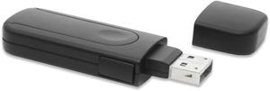 USB Port Blocker, 4x USB,4x USB Schlösser, Black