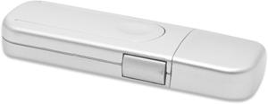 USB Port Blocker, 4x USB,4x USB Schl�sser, Silber
