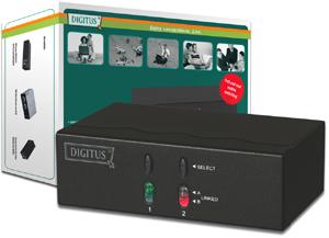 VGA AV Matrix Selector,2x AV IN - 2x AV OUT VGA/Klink