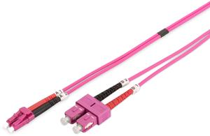 LWL Duplexkabel LCSC  3m OM4,50/125µ