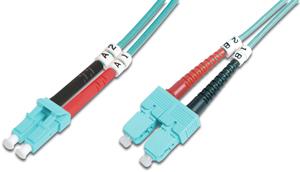 LWL Duplexkabel LCSC  3m OM3,50/125µ