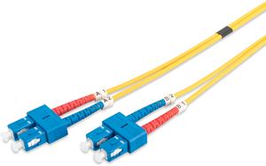 LWL Duplexkabel SCSC  1m OS2,9/125µ
