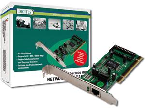 Netzwerkkarte GIGABIT 32 BIT,PCI  Realtek Chip