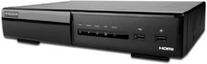 DIGITUS Netzwerkvideorekorder 4 Kanal PoE 4xLAN-in 1xHDMI out Full HD standalone 1xHDD Bay bis 3TB ohne HDD