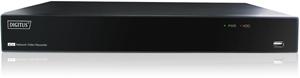 Plug and View NVR 4 Kanal,1x HDMI, 1xVGA, inkl. Remote