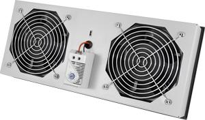 L�ftermodul f.IP55 Wandgeh�use,2 L�fter, Thermostat schaltbar