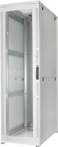 Serverschrank 42HE Glast�r,H1960x B600 xT1000 mm RAL7035