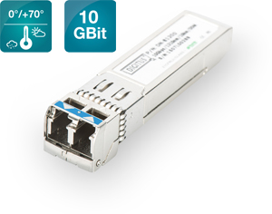 SFP Modul f�r Switche, DDM,LC, Multimode, 10Gbps, 300m