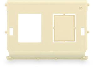 Einsatz für DN-93844-OD-1,für 2x RJ45 Keystone Module