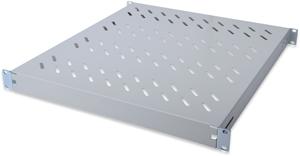 Fachboden 1HE T  525mm Grau,f�r 800mm Schr�nke, max. 50kg