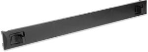 Blindblende 1HE Schwarz SNAP,Snap-In, Material ABS,