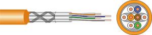 Verlegekabel CAT.7  S/FTP 500m,4x2xAWG23/1, LSHF, 500m