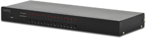 KVM SWITCH16 Port PS2/USB 19\,16 Port PS2 u. USB Support