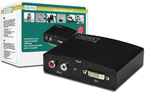 Converter DVI-D+Audio - HDMI,1920 x 1080 Pixel bei 60Hz