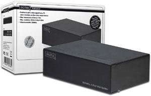 VGA Splitter 4 Fach 350MHz,Max. Aufl�sung 2048x1536