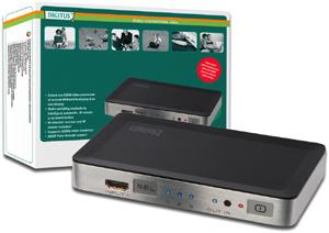 HDMI Switch 3-Port, HDMI1.3b,Aufl.max.1080i/p, 250MHz