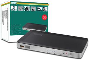HDMI Switch 5-Port, HDMI1.3b,Aufl.max.1080i/p, 250MHz
