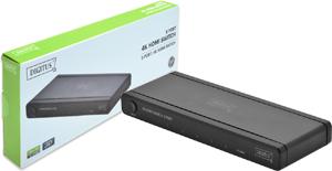 HDMI Switch 5-Port, 4K,Aufl.max.4096x2160, 3D Support