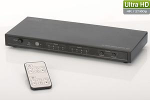 HDMI Matrix 4x2, 4K,4096x2160p,inkl. Fernbedienung