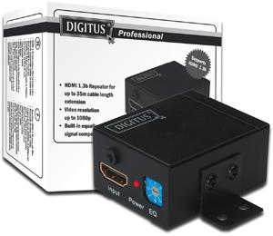 HDMI Repeater bis 35m,HDMI 1.3b und HDCP kompatibel