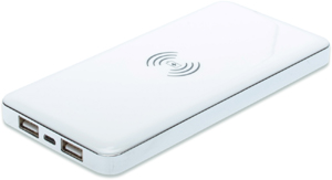 Power Bank  8.000mAh Induktion,mit Induktions - Ladefunktion