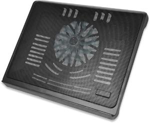 Notebook Kühler, bis zu 17,3\,1x 140mm Lüfter, schwarz