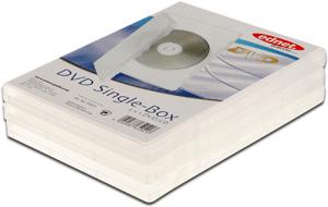 DVD Leerh�llen, 3er Pack, PP,Farbe: Transparent, f�r 1 DVD