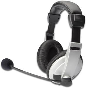 Stereo Studio Headset, Silber,3,5mm Stecker, Lautstärken R.