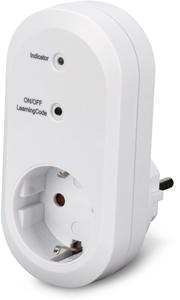 Indoor receiver unit, Withe,ednet.living Smart Plug