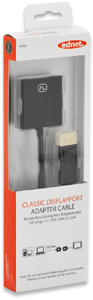 DisplayP.Adapter STDVI-I BU,Goldk., schwarz, 0,15m