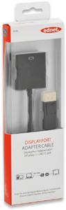 DisplayP.Adapter STHD15 BU,Goldk., schwarz, 0,15m
