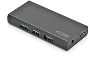 USB Hub  7PORT USB 3.0,Inkl.5V/3,5A Netzteil, Schwarz