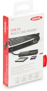 Card Reader All in One USB 3.0,Supports T-Flash