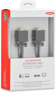 Monitor Verl. 1,8m HD15BU/STFE,UL, bl, cotton, gold