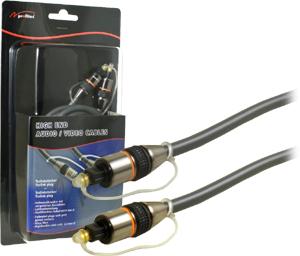 Digital Audio Kabel  3M,ToslinkToslink,Goldk,Blister