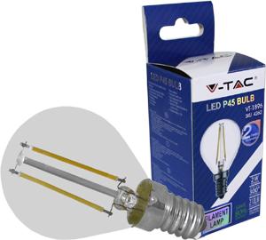 LED Bulblight E14 2W Warmwei�,210lm, 300�, Retro Design, P45