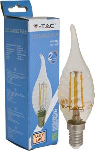LED Kerze E14 4W Warmwei�,400lm,300�,Retro Design,Twist